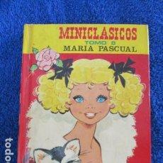 Livros em segunda mão: MINICLÁSICOS - TOMO 8 - CON ILUSTRACIONES DE MARÍA PASCUAL - EDITORIAL TORAY.. Lote 167984304