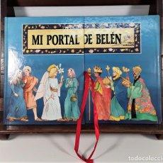 Libros de segunda mano: MI PORTAL DE BELÉN. LIBRO ANIMADO. F. MICHEL. EDIT. PRESSES DE LA CITE. PARÍS. 1989.. Lote 168041916