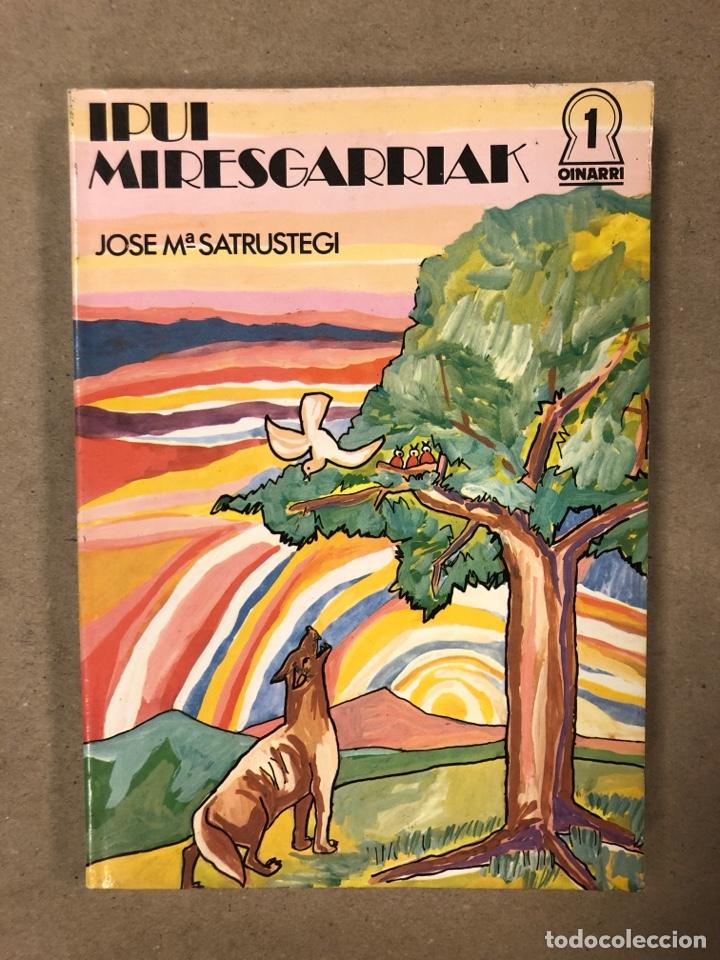 Libros de segunda mano: IPUI MIRESGARRIAK ETA LAPUR ZURIAK. 2 TOMOS. JOSE Mª SATRUSTEGI. IRUDIAK: XABIER EGAÑA - Foto 2 - 168215740