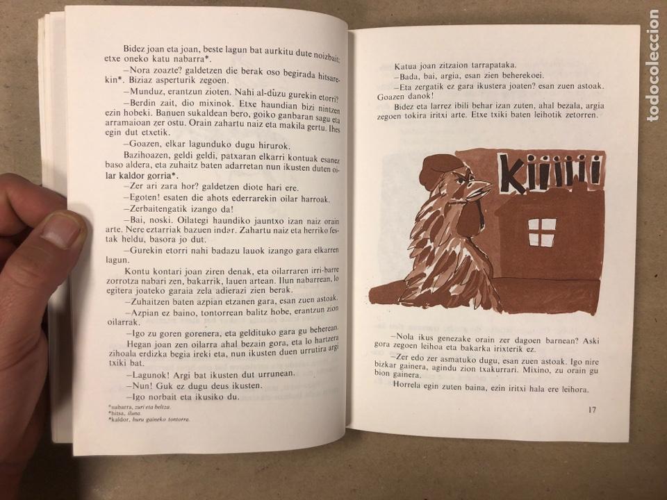 Libros de segunda mano: IPUI MIRESGARRIAK ETA LAPUR ZURIAK. 2 TOMOS. JOSE Mª SATRUSTEGI. IRUDIAK: XABIER EGAÑA - Foto 5 - 168215740