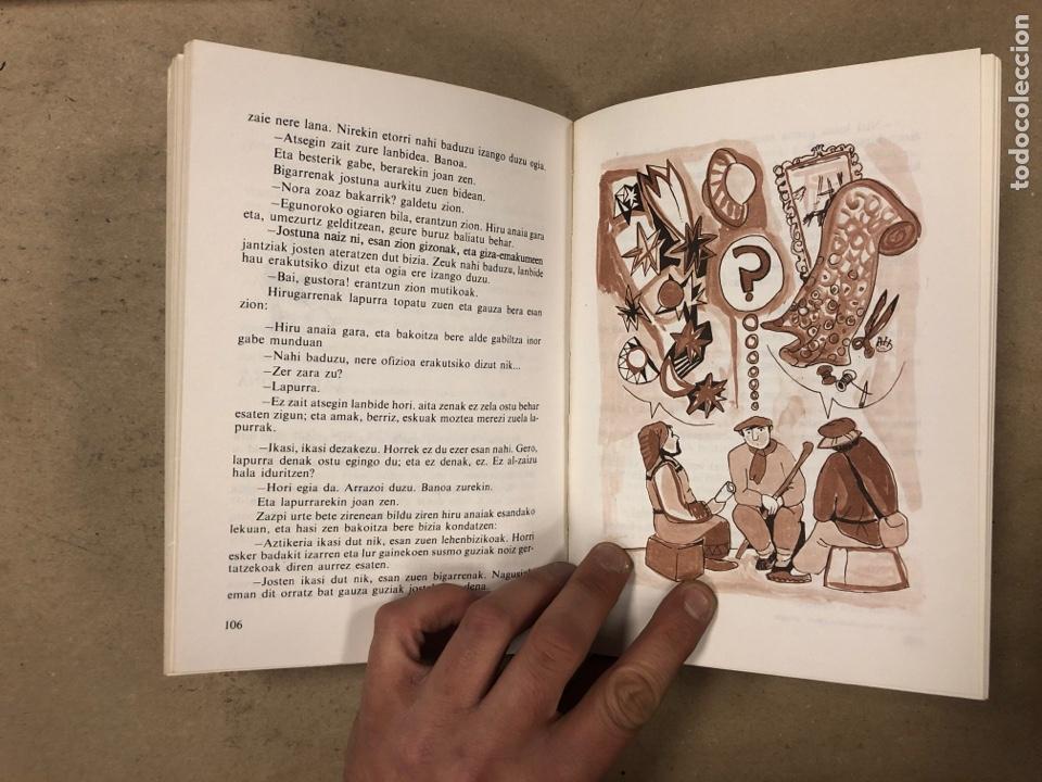 Libros de segunda mano: IPUI MIRESGARRIAK ETA LAPUR ZURIAK. 2 TOMOS. JOSE Mª SATRUSTEGI. IRUDIAK: XABIER EGAÑA - Foto 7 - 168215740