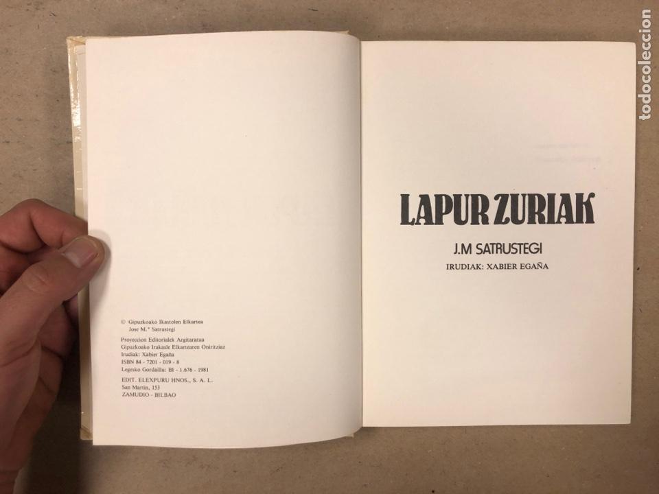 Libros de segunda mano: IPUI MIRESGARRIAK ETA LAPUR ZURIAK. 2 TOMOS. JOSE Mª SATRUSTEGI. IRUDIAK: XABIER EGAÑA - Foto 10 - 168215740