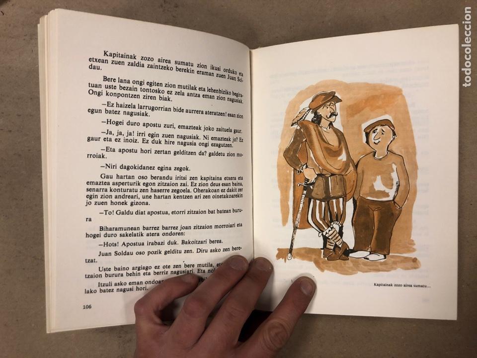 Libros de segunda mano: IPUI MIRESGARRIAK ETA LAPUR ZURIAK. 2 TOMOS. JOSE Mª SATRUSTEGI. IRUDIAK: XABIER EGAÑA - Foto 13 - 168215740