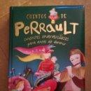 Libros de segunda mano: CUENTOS DE PERRAULT. CUENTOS MARAVILLOSOS PARA ANTES DE DORMIR. Lote 168277116