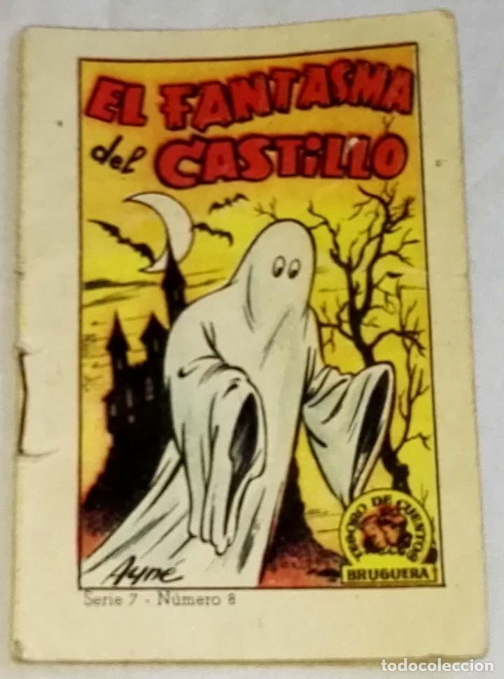 EL FANTASMA DEL CASTILLO - BRUGUERA, SERIE 7, Nº8 (Libros de Segunda Mano - Literatura Infantil y Juvenil - Cuentos)
