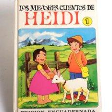 Libros de segunda mano: LOS MEJORES CUENTOS DE HEIDI 1. ED. BRUGUERA. 1975. Lote 168583996