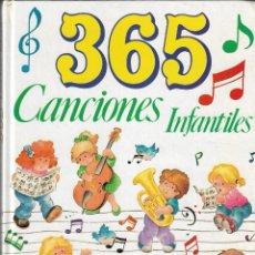 Libros de segunda mano: 365 CANCIONES INFANTILES - EDT. GRAFALCO, S.A., 1991.. Lote 168600004