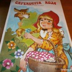 Libros de segunda mano: CAPERUCITA ROJA - CUENTO DESPLEGABLE POP-UP - COLECCIÓN VIOLETA - PUBLICACIONES FHER, S.A., 1985.. Lote 168607528