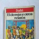 Libros de segunda mano: EL DESVÁN Y OTROS RELATOS SAKI. Lote 168611549