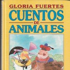 Libros de segunda mano: CUENTOS DE ANIMALES - GLORIA FUERTES - SUSAETA EDICIONES, S.A. - 1992.. Lote 168622780