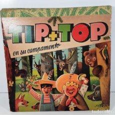 Libros de segunda mano: TIP TOP EN SU CAMPAMENTO. LIBRO SORPRESA. EDIT. ALBON. COLOMBIA. 1963.. Lote 168670912