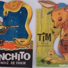 Libros de segunda mano: COLECCIÓN MI PEQUEÑO CAYMI Nº 12, ? - PANCHITO APRENDIZ DE FAKIR Y TIM NO VA A LA ESCUELA. Lote 168676232