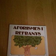 Libros de segunda mano: AFORISMES I REFRANYS. EDITORIAL SALVATELLA. Lote 168730032