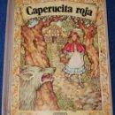 Libros de segunda mano: CAPERUCITA ROJA - LIBRO POP-UP - COLECCIÓN PANORMA - EDITORIAL NORMA. Lote 168744960