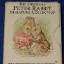 Libros de segunda mano: THE ORIGINAL PETER RABBIT MINIATURE COLLECTION - BEATRIX POTTER - F.WARNE&CO (1986). Lote 168745444