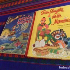 Libros de segunda mano: DON QUIJOTE DE LA MANCHA EDICIÓN INFANTIL, RAMÓN SOPENA 1972. REGALO CUENTOS DE MEDIA-NOCHE. HYMSA.. Lote 169434528