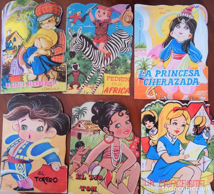 COLECCIÓN CUENTOS TROQUELADOS Nº 20, 52, 117, 120, 126, ? - LA CASITA DE CHOCOLATE Y OTROS (Libros de Segunda Mano - Literatura Infantil y Juvenil - Cuentos)