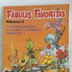 Libros de segunda mano: FÁBULAS FAVORITAS VOL 2 GARBANCITO LA GALLINA MARCELINA. Lote 169613737