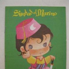 Libros de segunda mano: MIS PRIMEROS CUENTOS - Nº 10 - SIMBAD EL MARINO - EDITORIAL ROMA - AÑO 1984.. Lote 169674388