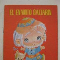 Libros de segunda mano: MIS PRIMEROS CUENTOS - Nº 4 - EL ENANITO SALTARÍN - EDITORIAL ROMA - AÑO 1984.. Lote 169675140