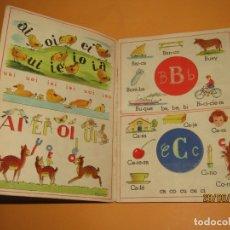 Libros de segunda mano: ANTIGUO CUENTO CON RUEDAS DE LETRAS ABC DE CAPERUCITA Y PULGARCITO EDITORIAL ROMA . Lote 169883612