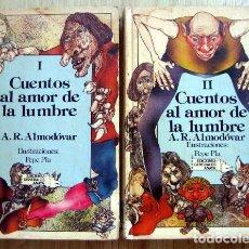 Libros de segunda mano: CUENTOS AL AMOR DE LA LUMBRE, DE A. R. ALMODOVAR. TOMOS 1 Y 2 I II. EDICIONES ANAYA. Lote 170026772