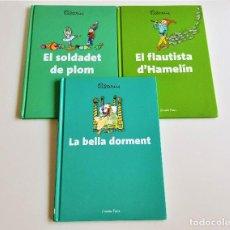 Libros de segunda mano: 3 CUENTOS EN CATALAN TAPA DURA - 17.5X24.5.CM. Lote 170176404