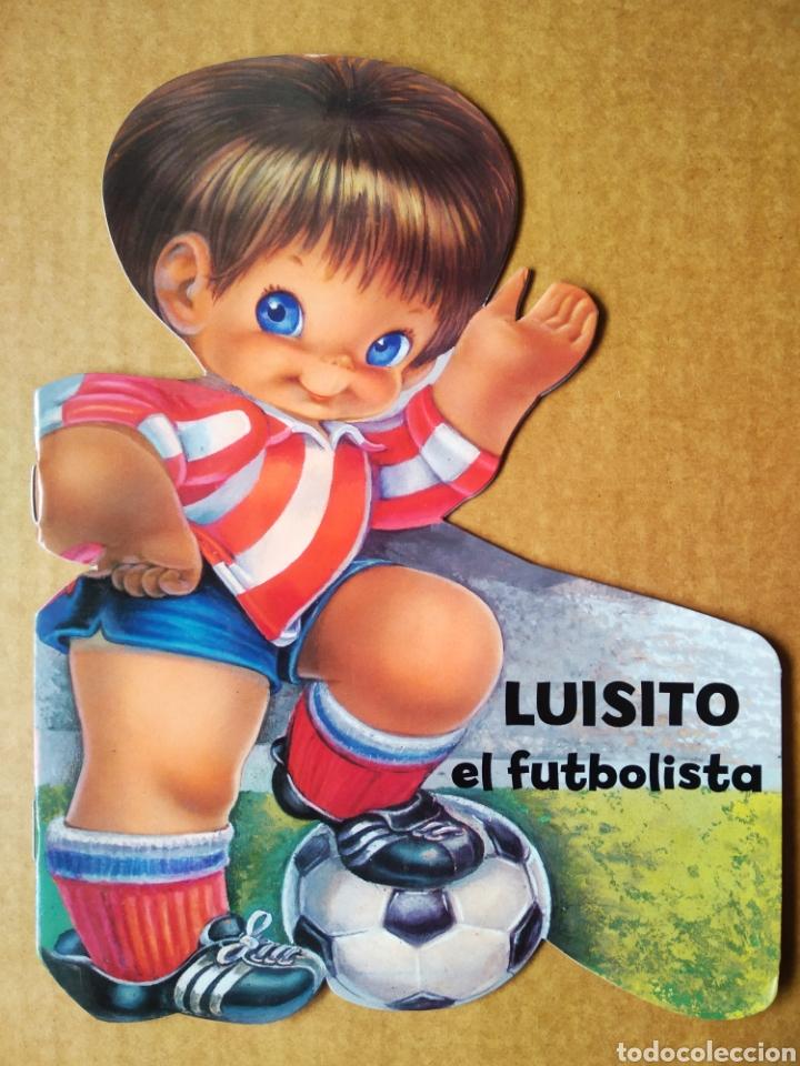 LUISITO EL FUTBOLISTA (SALDAÑA, 2012). TROQUELADO DE JOSÉ LUIS LÓPEZ. CUENTOS DE MI ABUELA. (Libros de Segunda Mano - Literatura Infantil y Juvenil - Cuentos)