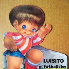 Libros de segunda mano: LUISITO EL FUTBOLISTA (SALDAÑA, 2012). TROQUELADO DE JOSÉ LUIS LÓPEZ. CUENTOS DE MI ABUELA.. Lote 215256788