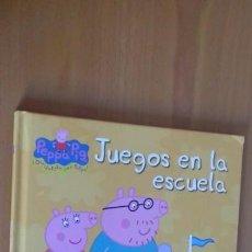 Libros de segunda mano: LIBRO CUENTO PEPPA PIG JUEGOS EN LA ESCUELA. Lote 170511148