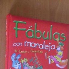 Libros de segunda mano: LIBRO CUENTO FABULAS CON MORALEJA ESOPO Y SAMANIEGO. Lote 170512212