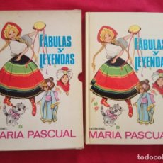 Libros de segunda mano: FABULAS Y LEYENDAS. MARIA PASCUAL CON SU FUNDA.. Lote 170513252