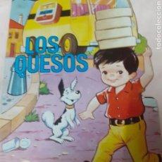 Libros de segunda mano: CUENTO TROQUELADO,: LOS QUESOS. Lote 170681952