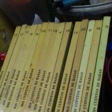 Libros de segunda mano: MIS CUENTOS DE HADAS. 1962-1966. Lote 171057740