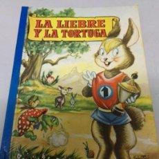 Libros de segunda mano: COLECCION PARA LA INFANCIA - LA LIEBRE Y LA TORTUGA - BRUGUERA 2ª EDI. 1956. Lote 171335673