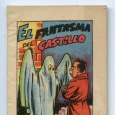 Libros de segunda mano: EL FANTASMA DEL CASTILLO. SERIE 15 Nº 8, BRUGUERA, CUENTO MINIATURA 6X8,7 CM. Lote 171364660