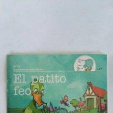 Libros de segunda mano: EL PATITO FEO LIBRO CD PRECINTADO. Lote 171372700