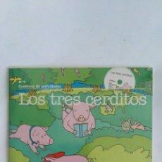 Libros de segunda mano: LOS TRES CERDITOS LIBRO CD PRECINTADO. Lote 171372794