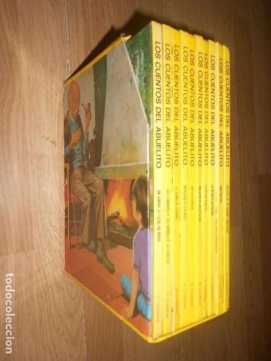 LOS CUENTOS DEL ABUELITO - RAUL CORREIA - COLECCION COMPLETA / 10 TOMOS (Libros de Segunda Mano - Literatura Infantil y Juvenil - Cuentos)