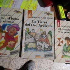 Libros de segunda mano: 3 LIBROS ALTA MAR BRUÑO NUMEROS: 14,18 Y 39 . Lote 171449398