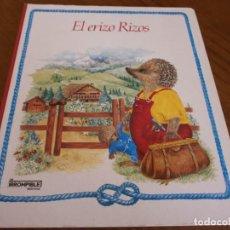 Libros de segunda mano: EL ERIZO RIZOS - UN IRROMPIBLE MONTENA - EDICIONES MONTENA, S.A., 1986.. Lote 188568868