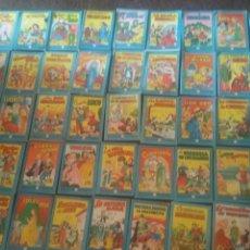 Libros de segunda mano: 44 CUENTOS DE LA COLECCIÓN GRAN COLECCION BLANCANIEVES DE EDITORIAL BRUGUERA.AÑOS 60. Lote 171699963