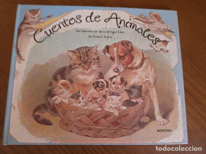 CUENTO POP-UP CUENTOS DE ANIMALES - ERNEST NISTER - EDICIONES MONTENA, 1980. (Libros de Segunda Mano - Literatura Infantil y Juvenil - Cuentos)