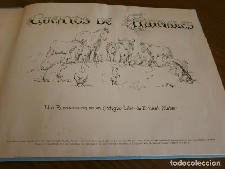 Libros de segunda mano: CUENTO POP-UP CUENTOS DE ANIMALES - ERNEST NISTER - EDICIONES MONTENA, 1980. - Foto 2 - 171703918
