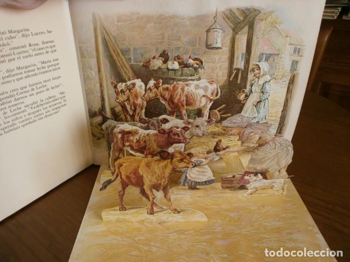 Libros de segunda mano: CUENTO POP-UP CUENTOS DE ANIMALES - ERNEST NISTER - EDICIONES MONTENA, 1980. - Foto 4 - 171703918