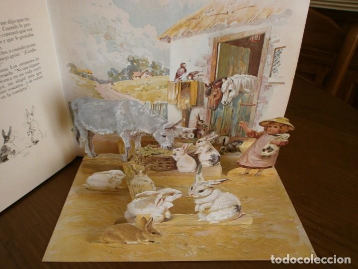 Libros de segunda mano: CUENTO POP-UP CUENTOS DE ANIMALES - ERNEST NISTER - EDICIONES MONTENA, 1980. - Foto 6 - 171703918