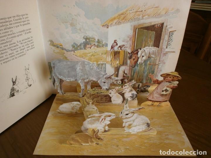 Libros de segunda mano: CUENTO POP-UP CUENTOS DE ANIMALES - ERNEST NISTER - EDICIONES MONTENA, 1980. - Foto 7 - 171703918