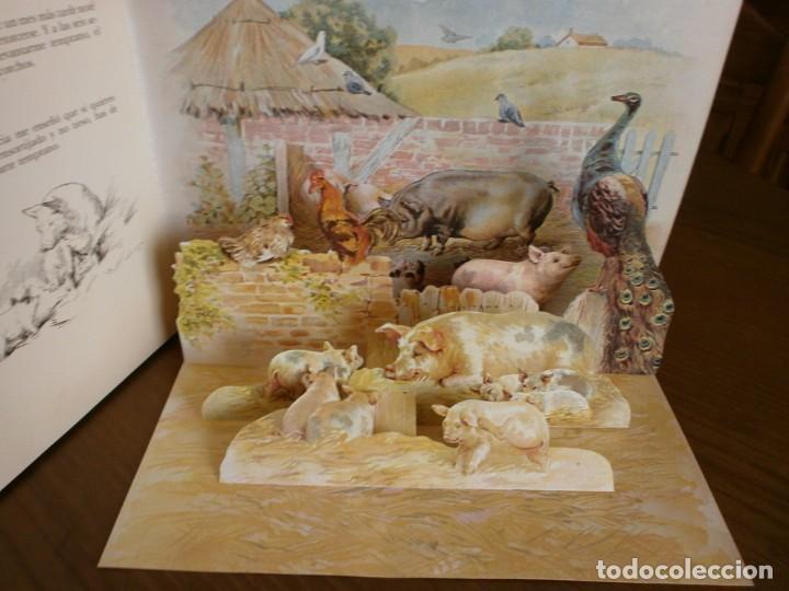 Libros de segunda mano: CUENTO POP-UP CUENTOS DE ANIMALES - ERNEST NISTER - EDICIONES MONTENA, 1980. - Foto 9 - 171703918