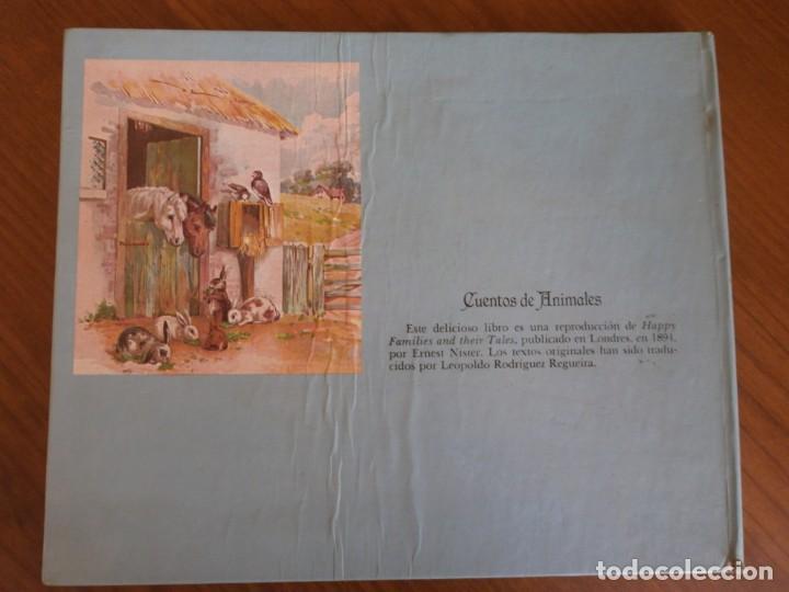 Libros de segunda mano: CUENTO POP-UP CUENTOS DE ANIMALES - ERNEST NISTER - EDICIONES MONTENA, 1980. - Foto 10 - 171703918