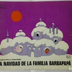 Libros de segunda mano: LA NAVIDAD DE LA FAMILIA BARBAPAPA, EDITORIAL JUVENTUD, AÑO 1975. Lote 171809629